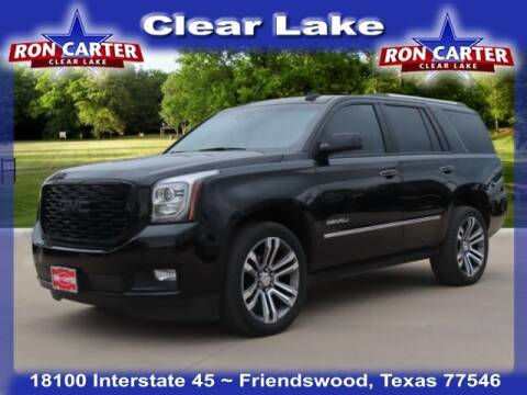 2020 GMC Yukon for sale at Ron Carter  Clear Lake Used Cars in Houston TX
