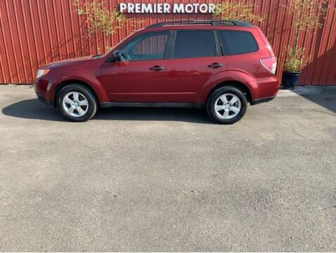 2011 Subaru Forester for sale at Premier Motors in Milton Freewater OR