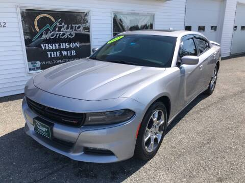2015 Dodge Charger for sale at HILLTOP MOTORS INC in Caribou ME
