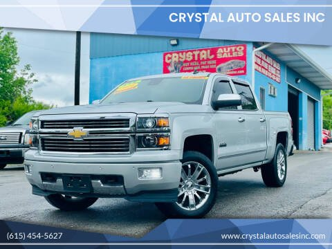 2014 Chevrolet Silverado 1500 for sale at Crystal Auto Sales Inc in Nashville TN