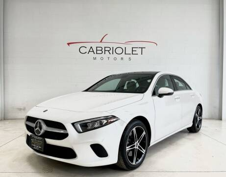 2019 Mercedes-Benz A-Class for sale at Cabriolet Motors in Morrisville NC