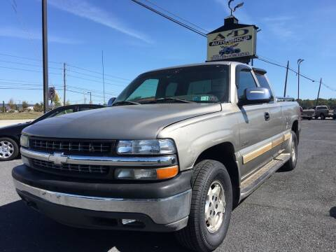 2002 Chevrolet Silverado 1500 for sale at A & D Auto Group LLC in Carlisle PA