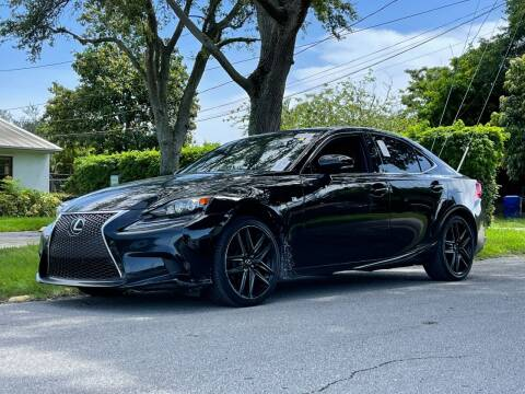 2015 Lexus IS 250 for sale at Auto Direct of South Broward in Miramar FL
