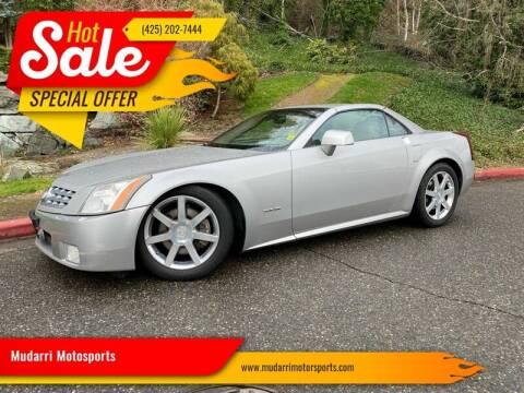 2004 Cadillac XLR for sale at Mudarri Motorsports in Kirkland WA