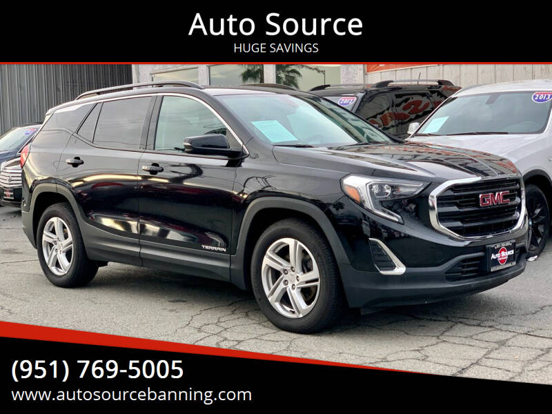 2018 GMC Terrain for sale at Auto Source in Banning CA