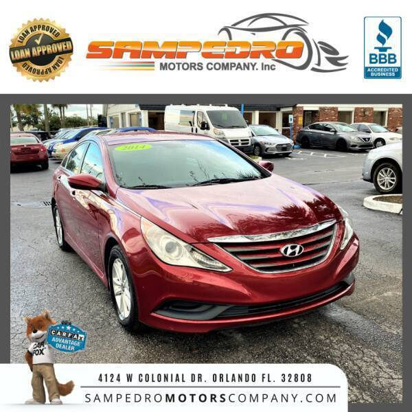 2014 Hyundai Sonata for sale at SAMPEDRO MOTORS COMPANY INC in Orlando FL