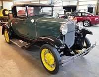 1930 Ford Model A for sale at Classic Car Deals in Cadillac MI