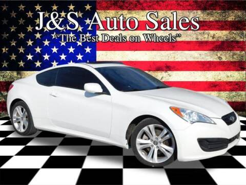 2011 Hyundai Genesis Coupe for sale at J & S Auto Sales in Clarksville TN