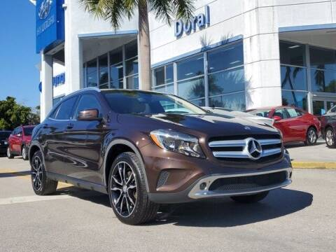 2015 Mercedes-Benz GLA for sale at DORAL HYUNDAI in Doral FL