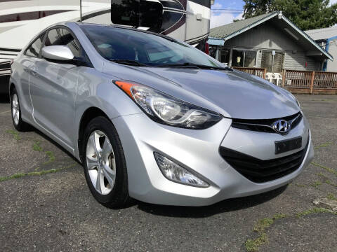 2013 Hyundai Elantra Coupe for sale at Autos Cost Less LLC in Lakewood WA