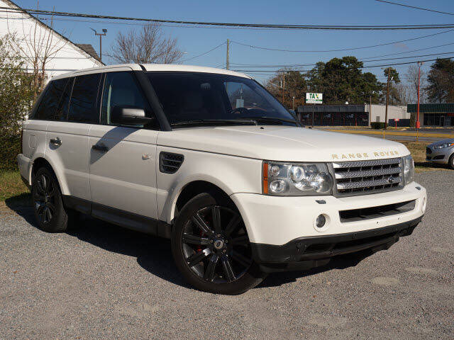 2009 Land Rover Range Rover Sport for sale at Auto Mart in Kannapolis NC