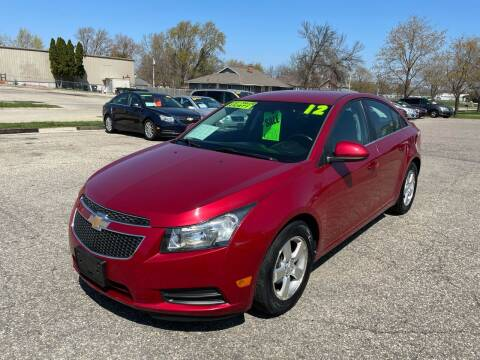 2012 Chevrolet Cruze for sale at River Motors in Portage WI