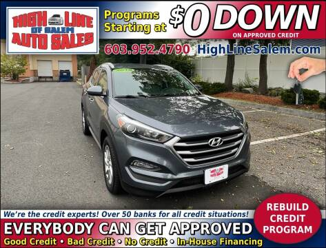 2018 Hyundai Tucson for sale at High Line Auto Sales of Salem in Salem NH