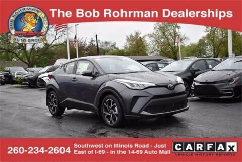 2021 Toyota C-HR for sale at BOB ROHRMAN FORT WAYNE TOYOTA in Fort Wayne IN