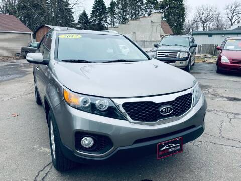 2012 Kia Sorento for sale at SHEFFIELD MOTORS INC in Kenosha WI