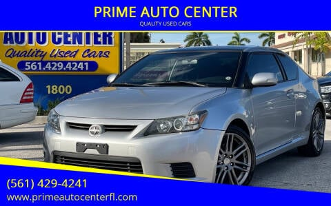 2011 Scion tC for sale at PRIME AUTO CENTER in Palm Springs FL