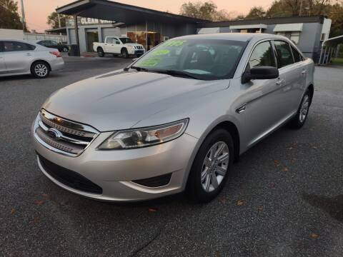 2011 Ford Taurus for sale at DON BAILEY AUTO SALES in Phenix City AL