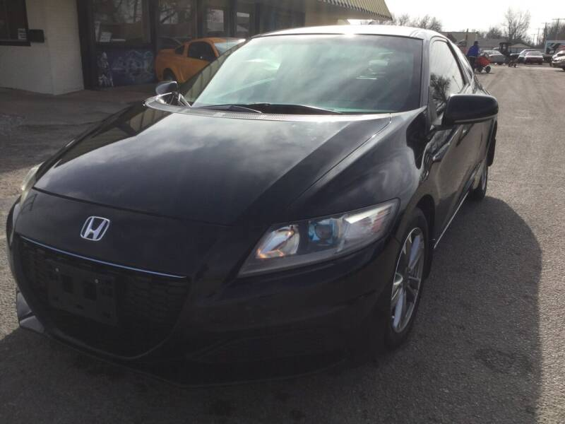 2013 Honda CR-Z for sale at LOWEST PRICE AUTO SALES, LLC in Oklahoma City OK