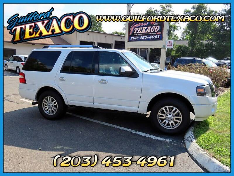 2012 Ford Expedition for sale at GUILFORD TEXACO in Guilford CT