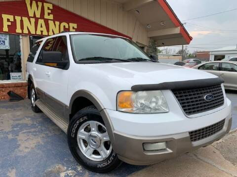 2004 Ford Expedition for sale at Caspian Auto Sales in Oklahoma City OK