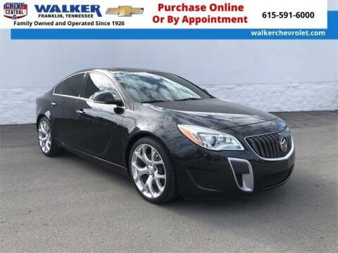 2014 Buick Regal for sale at WALKER CHEVROLET in Franklin TN