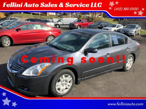 2010 Nissan Altima for sale at Fellini Auto Sales & Service LLC in Pittsburgh PA