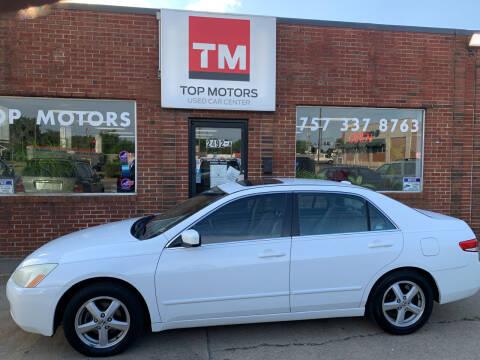2004 Honda Accord for sale at Top Motors LLC in Portsmouth VA