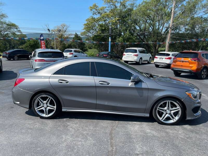 2014 Mercedes-Benz CLA for sale at MAGNUM MOTORS in Reedsville PA