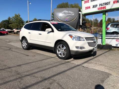 2011 Chevrolet Traverse for sale at Giguere Auto Wholesalers in Tilton NH