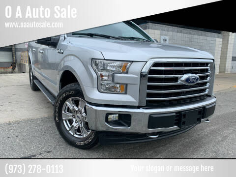 2017 Ford F-150 for sale at O A Auto Sale in Paterson NJ