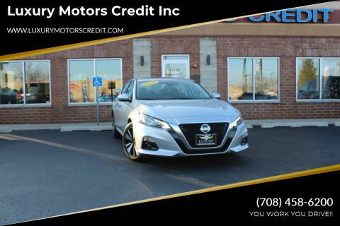 2020 Nissan Altima for sale at Luxury Motors Credit Inc in Bridgeview IL