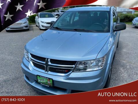 2013 Dodge Journey for sale at Auto Union LLC in Virginia Beach VA