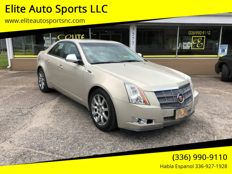 2009 Cadillac CTS for sale at Elite Auto Sports LLC in Wilkesboro NC