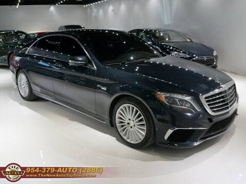 2014 Mercedes-Benz S-Class for sale at The New Auto Toy Store in Fort Lauderdale FL