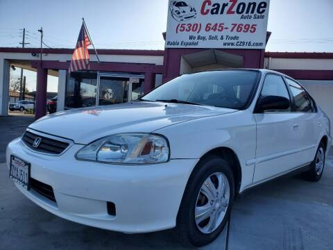 1999 Honda Civic for sale at CarZone in Marysville CA