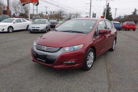 2010 Honda Insight for sale at Leavitt Auto Sales and Used Car City in Everett WA