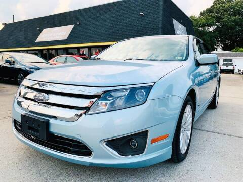 2010 Ford Fusion Hybrid for sale at Auto Space LLC in Norfolk VA