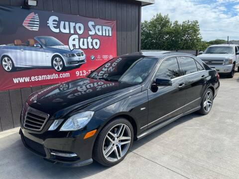2012 Mercedes-Benz E-Class for sale at Euro Auto in Overland Park KS