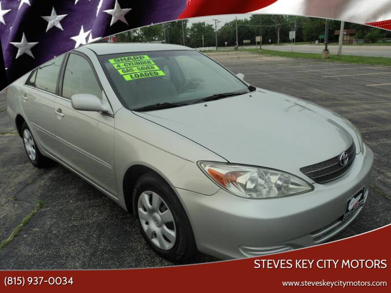 2004 Toyota Camry for sale at Steves Key City Motors in Kankakee IL