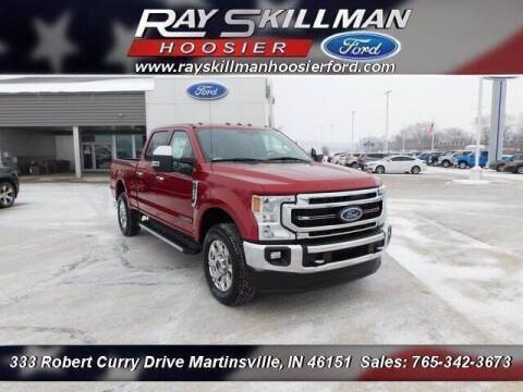 2021 Ford F-250 Super Duty for sale at Ray Skillman Hoosier Ford in Martinsville IN