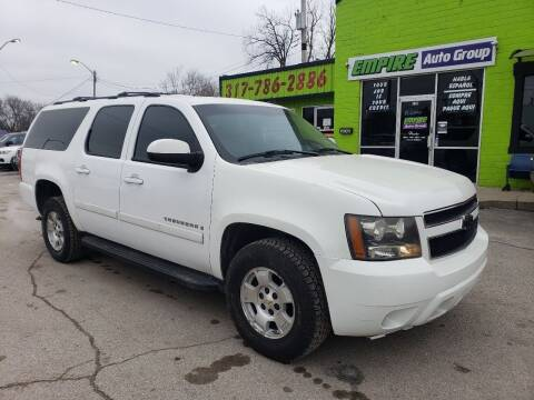 2007 Chevrolet Suburban for sale at Empire Auto Group in Indianapolis IN