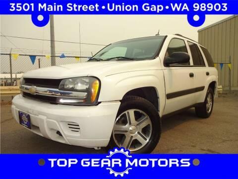 2005 Chevrolet TrailBlazer for sale at Top Gear Motors in Union Gap WA