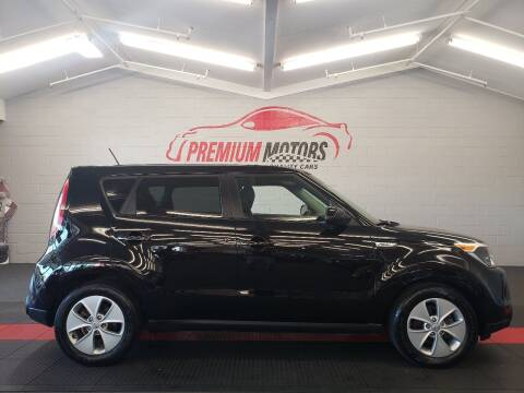 2016 Kia Soul for sale at Premium Motors in Villa Park IL