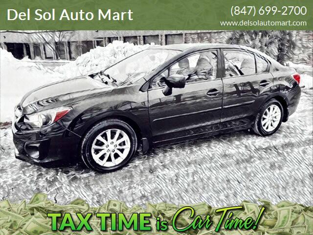 2014 Subaru Impreza for sale at Del Sol Auto Mart in Des Plaines IL