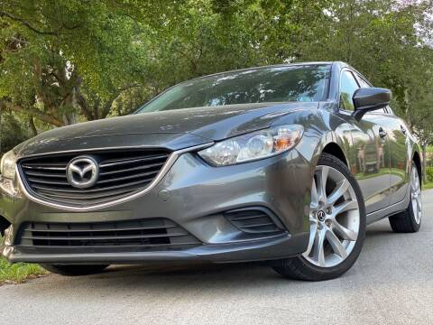 2017 Mazda MAZDA6 for sale at HIGH PERFORMANCE MOTORS in Hollywood FL