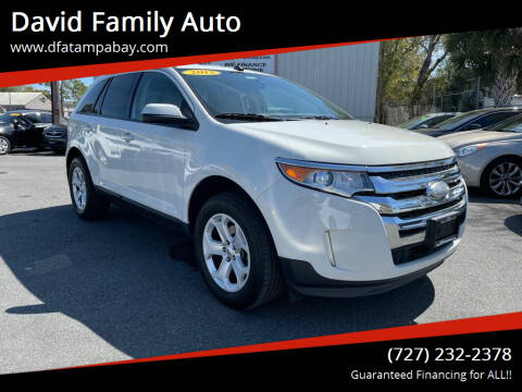 2013 Ford Edge for sale at David Family Auto in New Port Richey FL