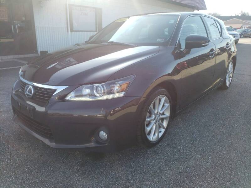 2012 Lexus CT 200h for sale at Salem Auto Sales in Salem VA