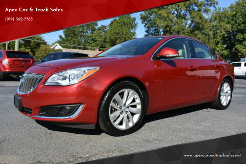 2015 Buick Regal for sale at Apex Car & Truck Sales in Apex NC