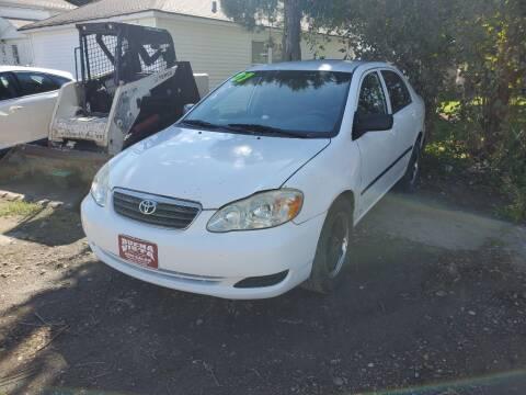 2007 Toyota Corolla for sale at Buena Vista Auto Sales in Storm Lake IA