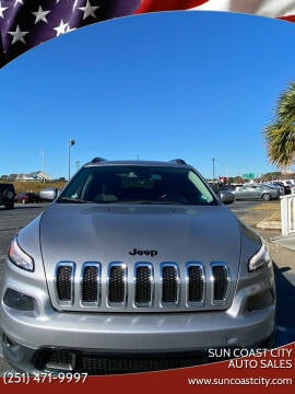 2018 Jeep Cherokee for sale at Sun Coast City Auto Sales in Mobile AL